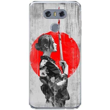 Husa Japanese warrior woman LG G6 Guardo.shop