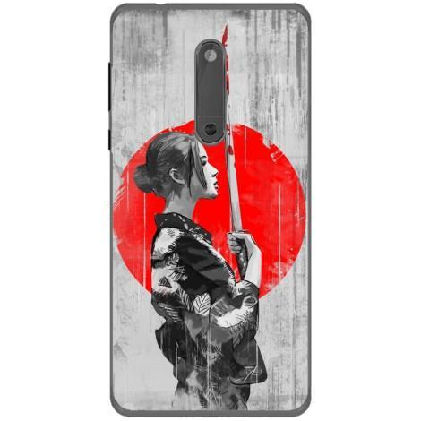 Husa Japanese warrior woman Nokia 5 Guardo.shop
