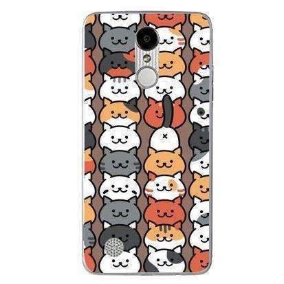 Husă Kawaii Cats Pattern LG K4 2017 Guardo.shop