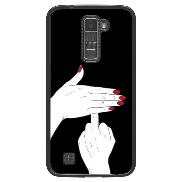 Husă Lady Middle Finger LG K10 Guardo.shop