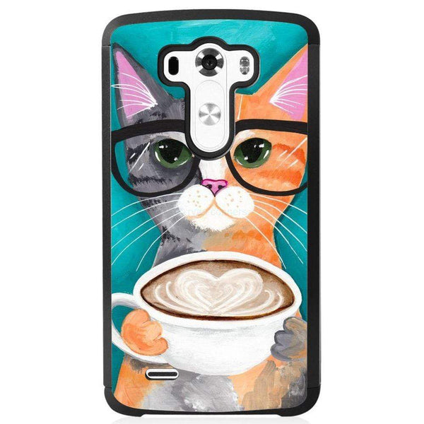 Husă Latte Caffe Cat LG G4 Guardo.shop