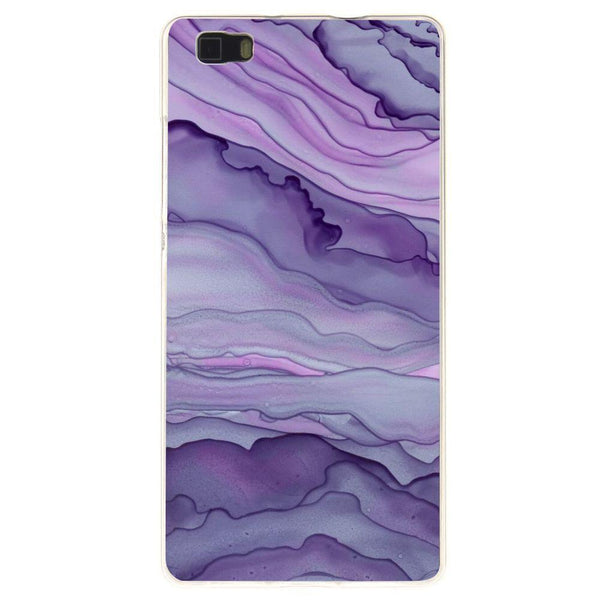 Husă Lavender Layer Abstract HUAWEI P8 Lite Guardo.shop