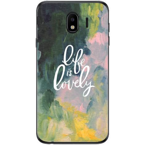 Husa Life is lovely Samsung Galaxy J4 2018 Guardo.shop