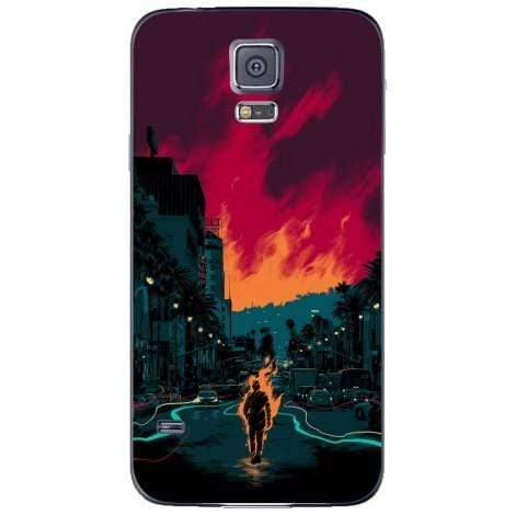 Husa Lonely fire ghoul Samsung Galaxy S5 Guardo.shop