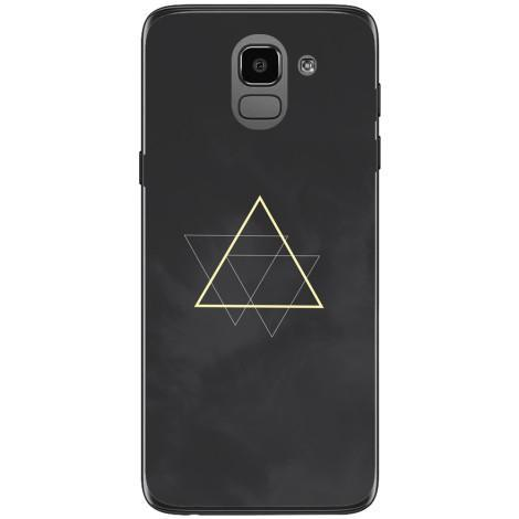Husa Minimalist triangles Samsung Galaxy J6 2018 Guardo.shop