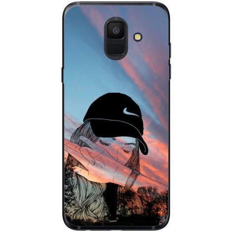 Husa Nike dab girl Samsung Galaxy A6 2018 Guardo.shop
