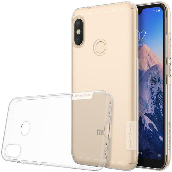 Husa Nillkin Nature Cover Ultra Slim Tpu Xiaomi Redmi Note 6 Pro Transparent Nillkin