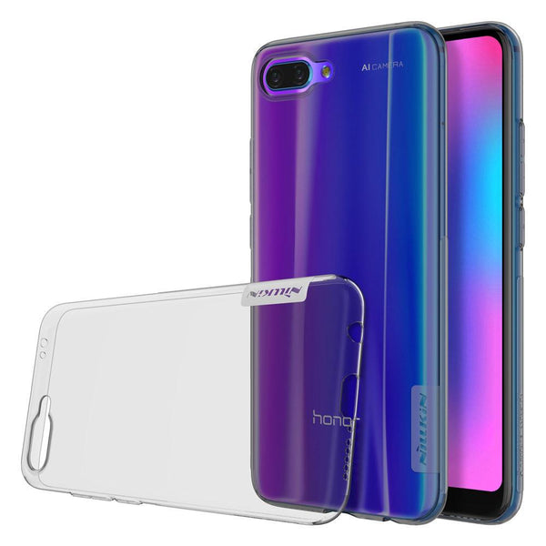 Husa Nillkin Nature Gel TPU Ultra Slim pentru Huawei Honor 10 grey Nillkin