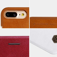Husa Nillkin Qin Leather pentru  iPhone 8 Plus / 7 Plus black Nillkin