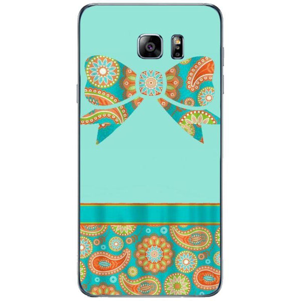 Husă Paisley Print Bow Colorful Blue SAMSUNG Galaxy Note 5 Guardo.shop