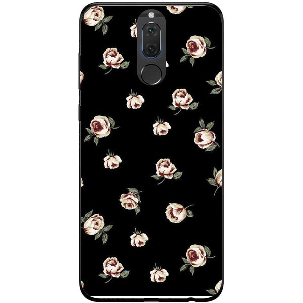 Husa Pink rose dark pattern Huawei Mate 10 Lite Guardo.shop