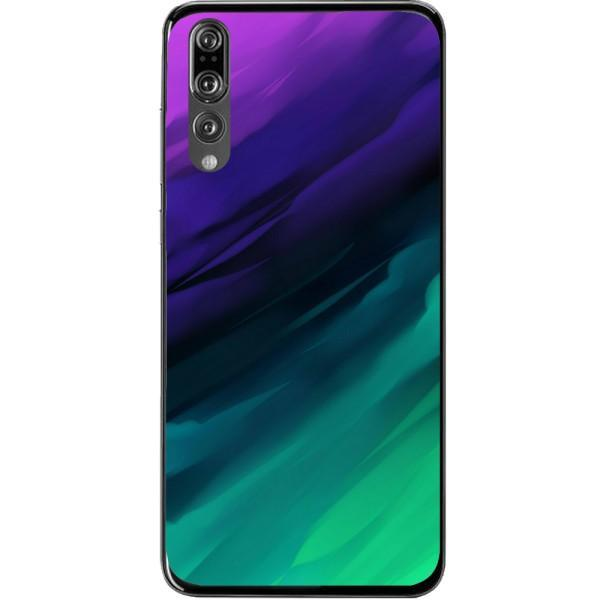 Husa Purple Green Shadows Huawei P20 Pro Guardo.shop