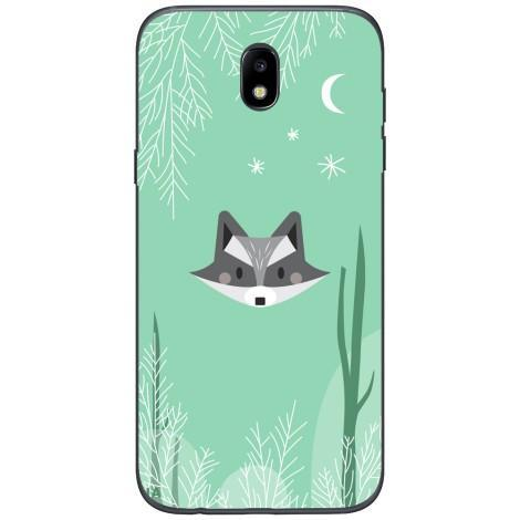 Husa Raccoon face Samsung Galaxy J7 2017 Guardo.shop