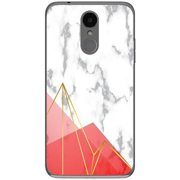 Husa Red White Marble LG K4 2017 Guardo.shop