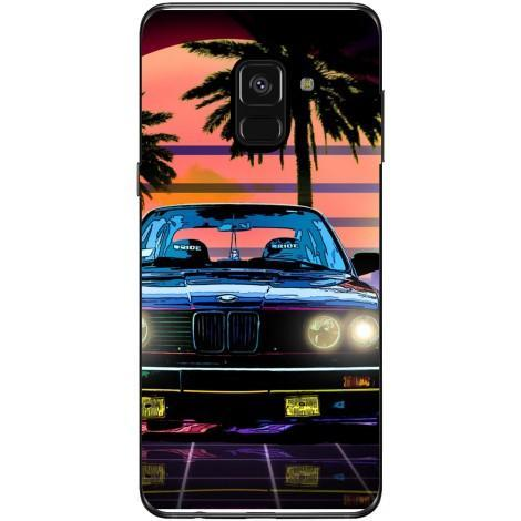 Husa Retro bmw Samsung Galaxy A8 2018 Guardo.shop