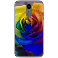 Husa Rose rainbow colorful LG K4 2017 Guardo.shop