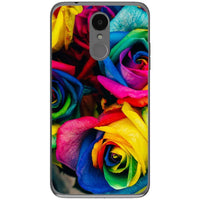 Husa Roses colorful rainbow LG K4 2017 Guardo.shop