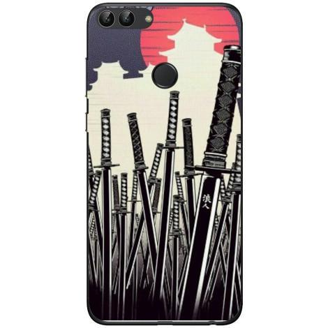 Husa Samurai swords Huawei P smart Guardo.shop