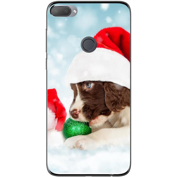 Husa Santa puppy HTC Desire 12 Plus Guardo.shop