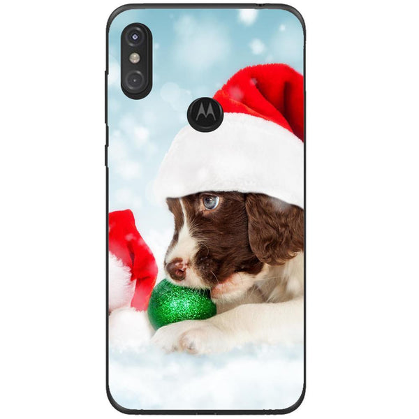 Husa Santa puppy Motorola One Guardo.shop