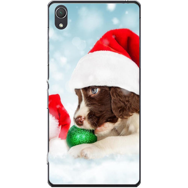 Husa Santa puppy Sony Xperia Z2 Guardo.shop