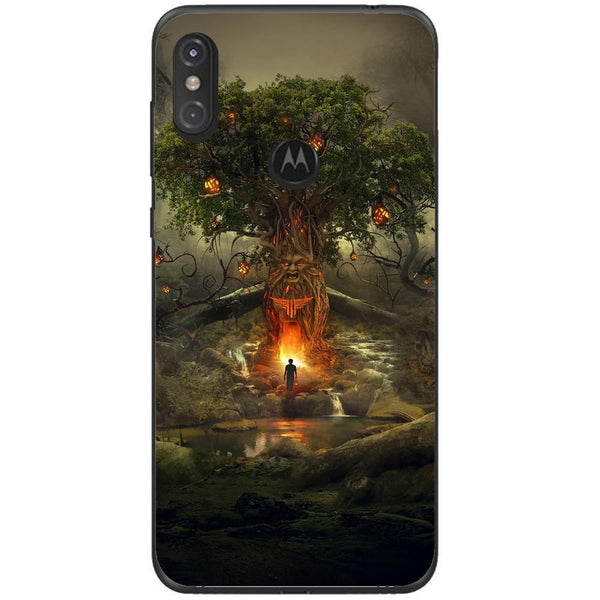 Husa Scary Tree Motorola One Guardo.shop