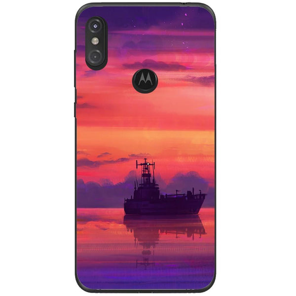Husa Ship art sea Motorola One Guardo.shop