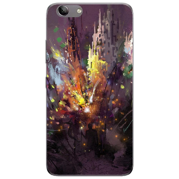 Husa Silhouette art Lenovo Vibe K5 Plus Guardo.shop