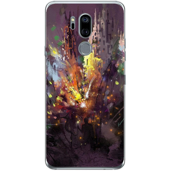 Husa Silhouette art LG G7 Guardo.shop