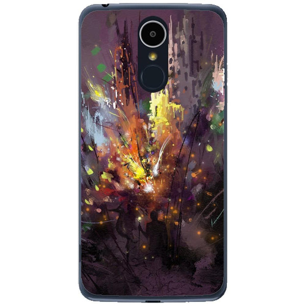 Husa Silhouette art LG K8 2017 Guardo.shop