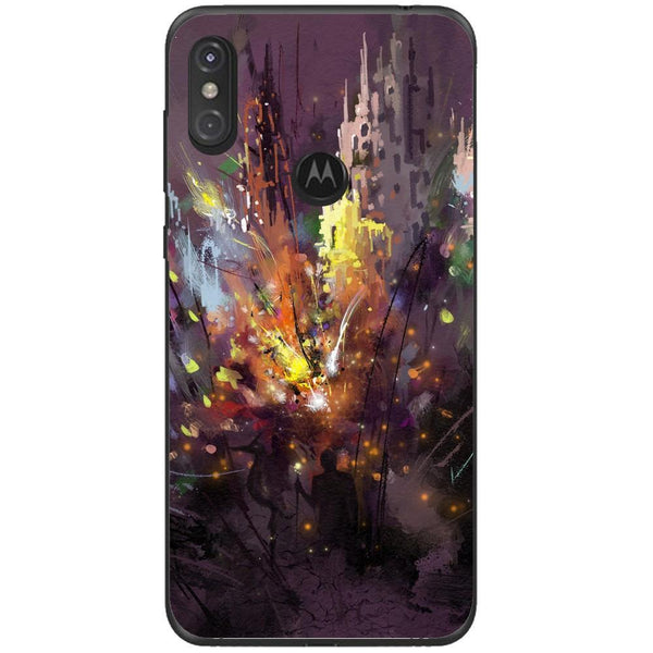 Husa Silhouette art Motorola One Guardo.shop