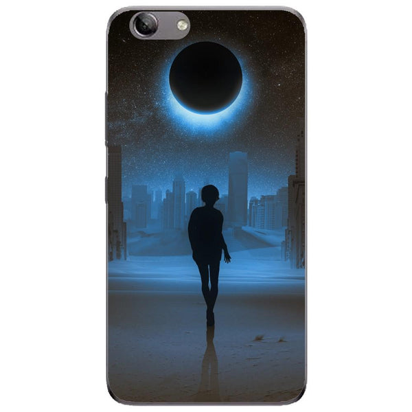 Husa Silhouette full moon mystical Lenovo Vibe K5 Plus Guardo.shop