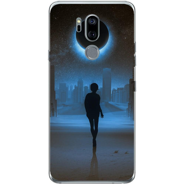 Husa Silhouette full moon mystical LG G7 Guardo.shop