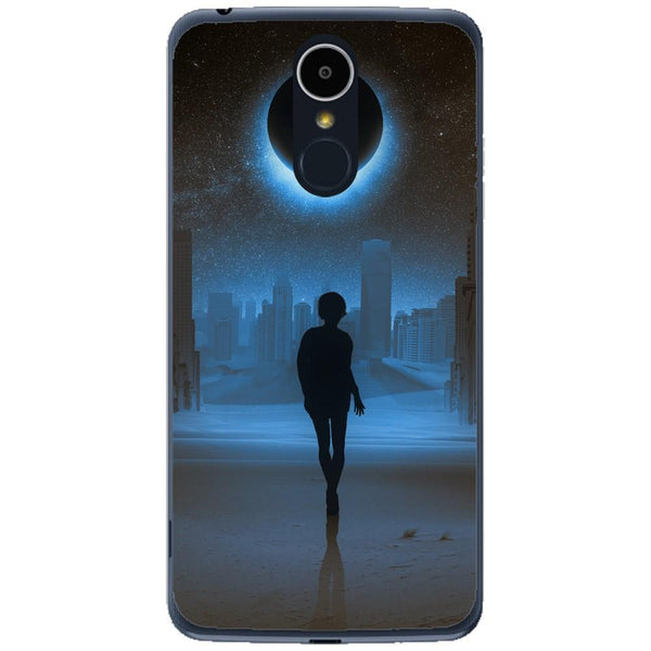 Husa Silhouette full moon mystical LG K8 2017 Guardo.shop