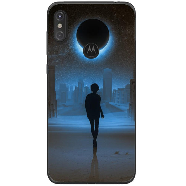 Husa Silhouette full moon mystical Motorola One Guardo.shop