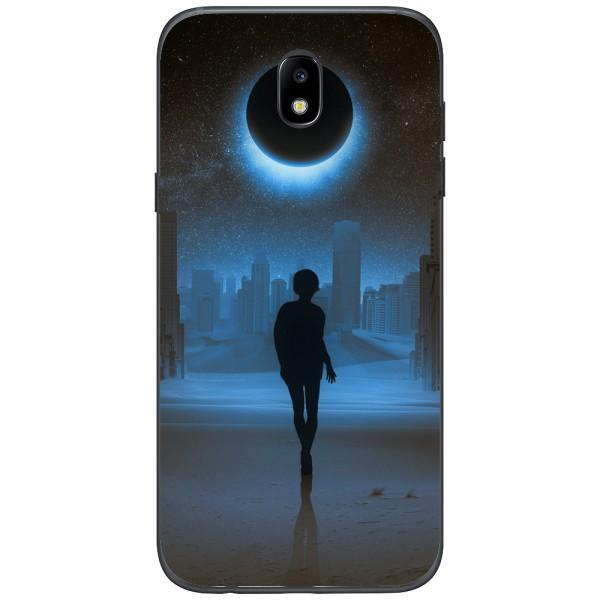 Husa Silhouette full moon mystical Samsung Galaxy J7 2017 Guardo.shop