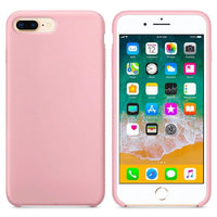 Husa Silicon Soft Flexible Cover Iphone 8 Plus / 7 Plus Pink Ex-Display Guardo