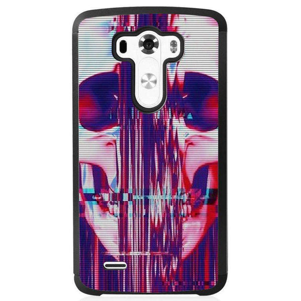 Husă Skull Glitch LG G4 Guardo.shop