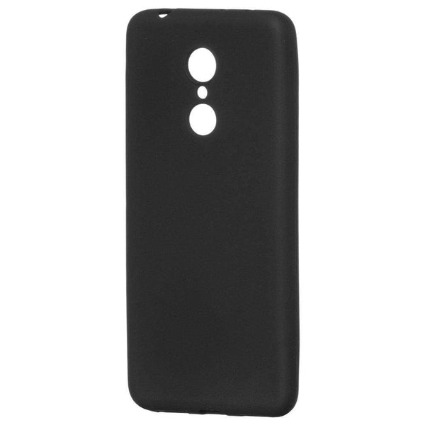 Husa Soft Matt Gel TPU Cover pentru Xiaomi Redmi 5 Plus / Redmi Note 5 (single camera) black Guardo.shop