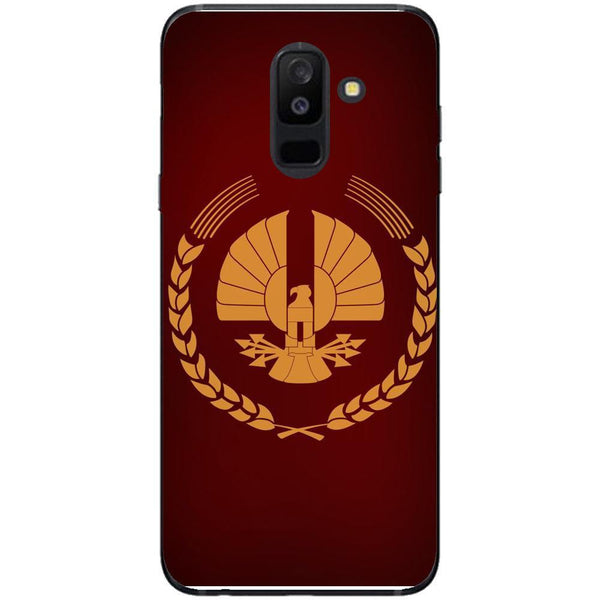 Husa The hunger games logo Samsung Galaxy A6 PLUS 2018 Guardo.shop