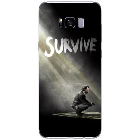 Husa The walking dead season 5 survive rick Samsung Galaxy S8 Plus Guardo.shop