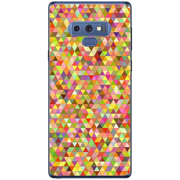 Husa Triangles multicolored pixels Samsung Galaxy Note 9 Guardo.shop
