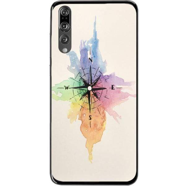 Husa Watercolor Compass Huawei P20 Pro Guardo.shop