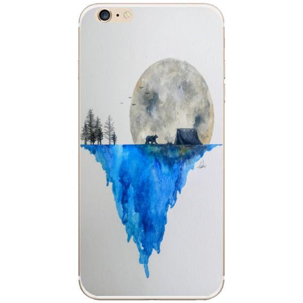 Husa Watercolor Earth Iphone 6 Plus Guardo.shop