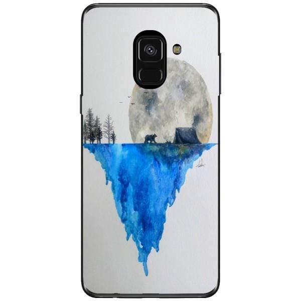 Husa Watercolor Earth Samsung Galaxy A8 2018 Plus Guardo.shop
