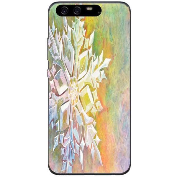 Husa Watercolor Snowflake Huawei P10 Plus Guardo.shop