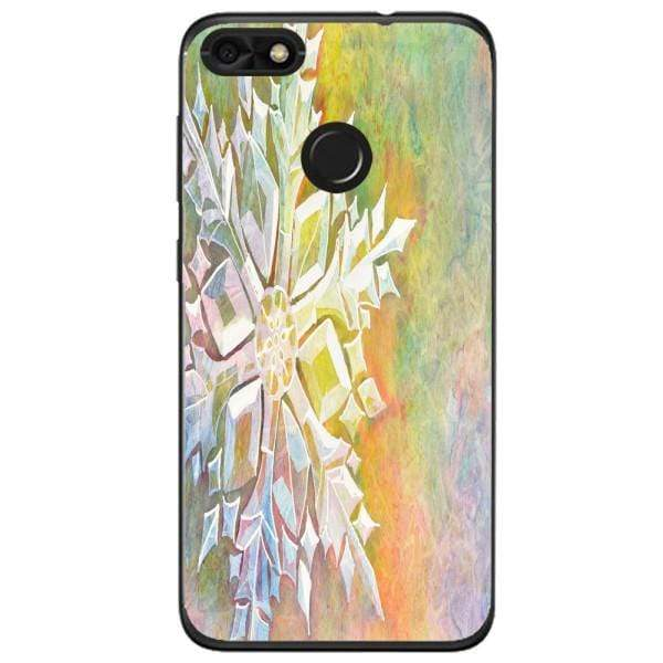 Husa Watercolor Snowflake Huawei Y6 Pro 2017 Guardo.shop