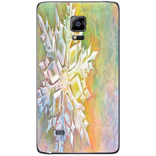 Husa Watercolor Snowflake Samsung Galaxy Note 4 EDGE Guardo.shop