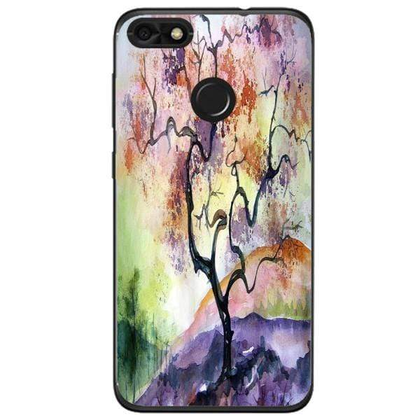 Husa Watercolor Tree Huawei Y6 Pro 2017 Guardo.shop