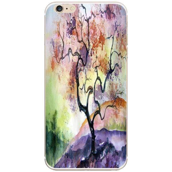 Husa Watercolor Tree Iphone 6 Plus Guardo.shop